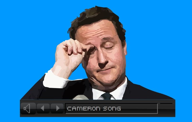 David Cameron Song by Adrian Slade