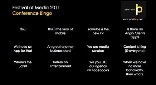 FOM Bingo 2011